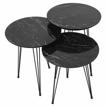 SELSEY Zestaw stolików kawowych Xenolitha