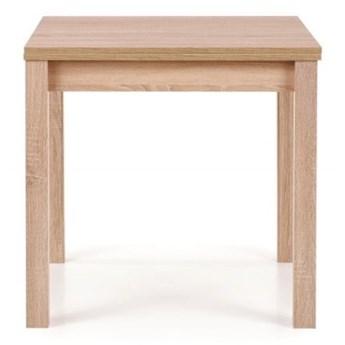 SELSEY Stół rozkładany Lea 80-160x80 cm dąb sonoma