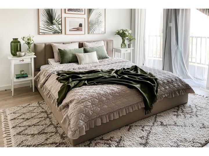 SELSEY Łóżko tapicerowane Rinus Łóżko pikowane Metal Kategoria Łóżka do sypialni