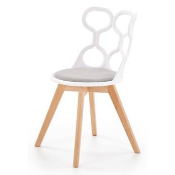 SELSEY Krzesło Delle z ażurowym oparciem