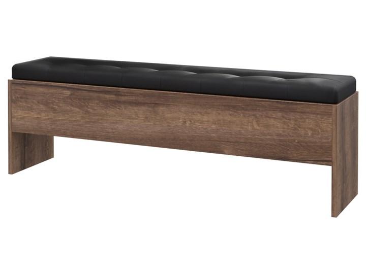 SELSEY Ławka Akashito ze schowkiem 165 cm Kolor Brązowy Styl Nowoczesny