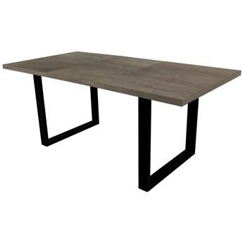 SELSEY Stół rozkładany Lameca 135-185x85 cm beton