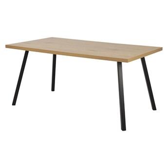 SELSEY Stół Thadear 160x90 cm na skośnych nóżkach