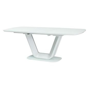 SELSEY Stół rozkładany Lubeka 140-200x90 cm biały