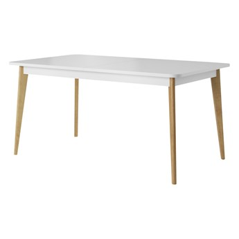 SELSEY Stół rozkładany Livinella 140-180x80 cm biały