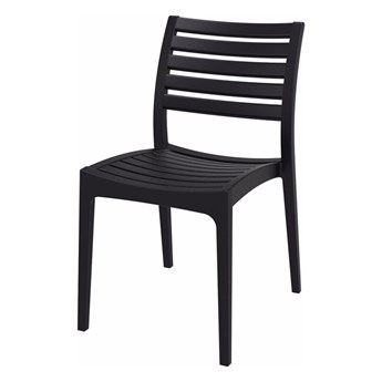 SELSEY Krzesło Garada czarny