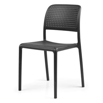 SELSEY Krzesło Carob czarne