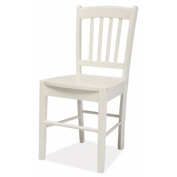 SELSEY Krzesło Bergen białe