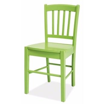 SELSEY Krzesło Bergen zielone