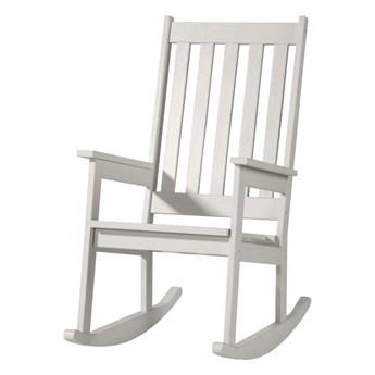 SELSEY Krzesło bujane Belidia białe