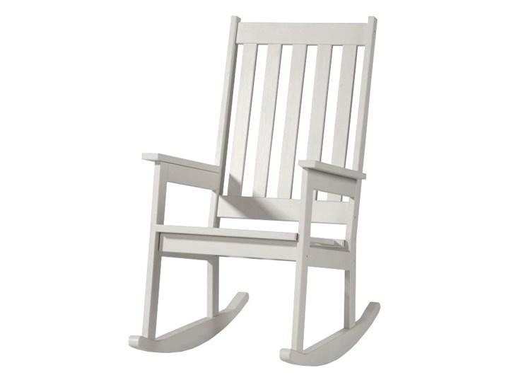 SELSEY Krzesło bujane Belidia białe Z podłokietnikiem Pomieszczenie Pokój przedszkolaka Drewno Kolor Biały