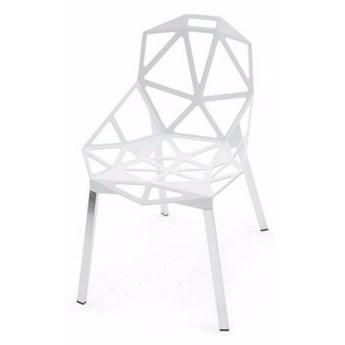 SELSEY Krzesło Keid białe