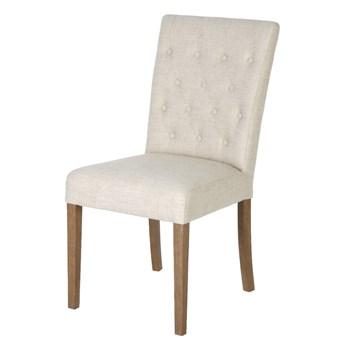 SELSEY Krzesło tapicerowane pikowane Belpois