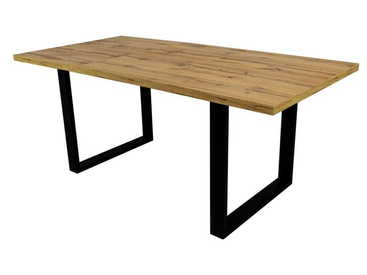 SELSEY Stół rozkładany Lameca 135-185x85 cm dąb wotan Pomieszczenie Stoły do jadalni Metal Drewno Długość 135 cm Płyta MDF Wysokość 74 cm Długość 185 cm Rozkładanie Rozkładane