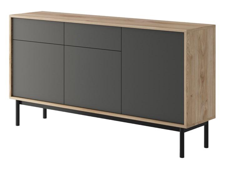 SELSEY Komoda Welagne 154 cm Z szafkami i szufladami Drewno Pomieszczenie Salon