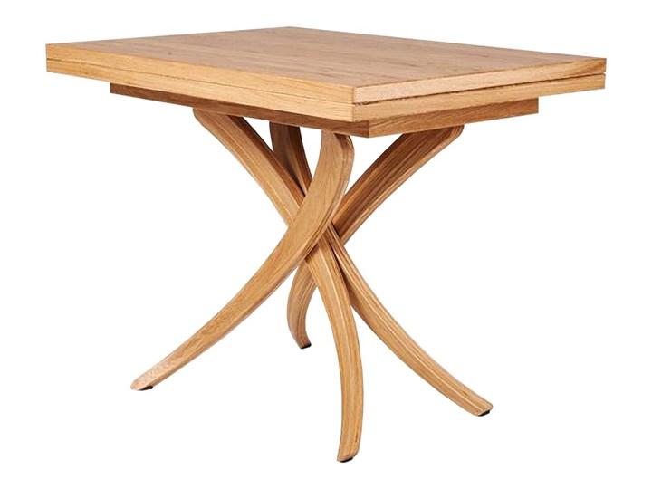 SELSEY Stół rozkładany Genius 3w1 70-140x100 cm kolor naturalny Wysokość 80 cm Drewno Długość 150 cm  Kategoria Stoły kuchenne Długość 140 cm  Pomieszczenie Stoły do jadalni