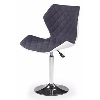 SELSEY Fotel biurowy Forint 2 biało-popielaty