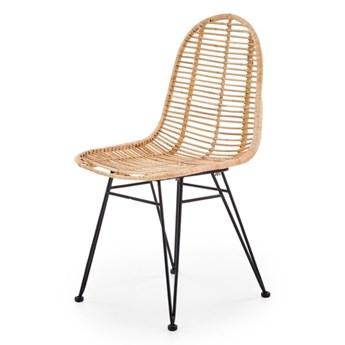 SELSEY Krzesło Alia z naturalnego rattanu