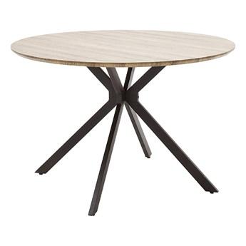 SELSEY Stół okrągły Tullia średnica 120 cm dąb dziki