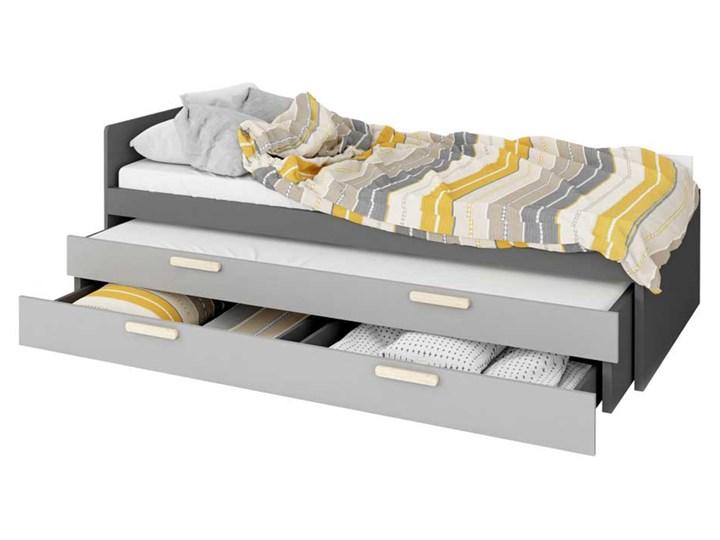 SELSEY Łóżko młodzieżowe Taratam 90x200 cm z wyborem łóżka dolnego i szuflady Kategoria Łóżka dla dzieci