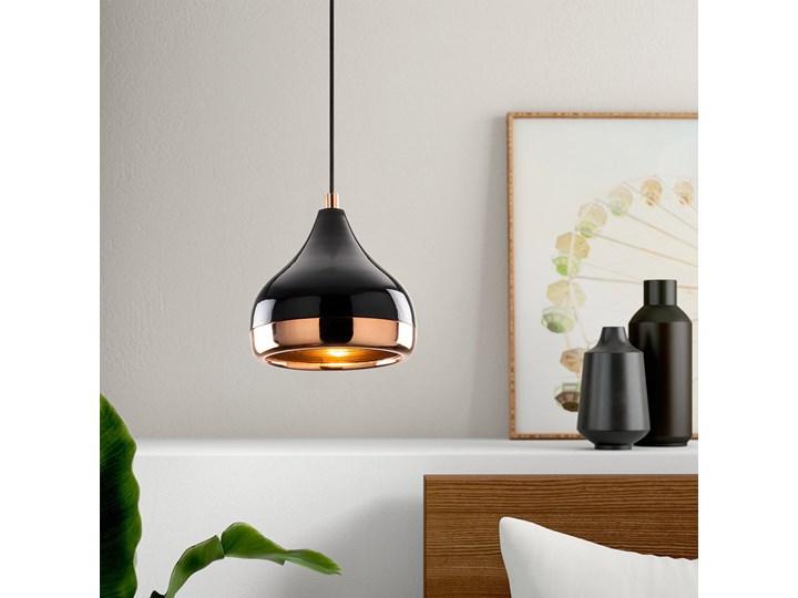SELSEY Lampa wisząca Queenie średnica 17 cm Metal Lampa z kloszem Funkcje Brak dodatkowych funkcji