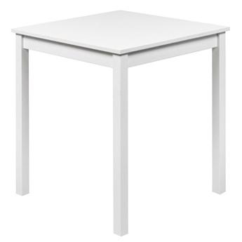 SELSEY Stół do jadalni Silphium 68x68 cm biały