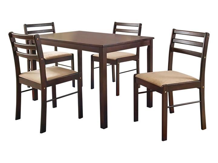 SELSEY Stół z krzesłami Coya Kategoria Stoły z krzesłami Kolor Brązowy
