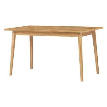 SELSEY Stół rozkładany Veneer 140-180x80 cm dąb naturalny