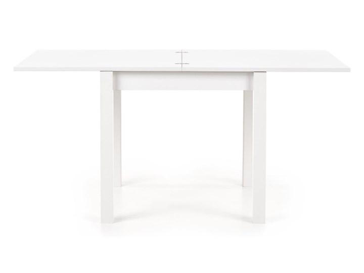 SELSEY Stół rozkładany Lea 80-160x80 cm biały Płyta MDF Wysokość 76 cm Długość 160 cm  Pomieszczenie Stoły do jadalni Rozkładanie Rozkładane