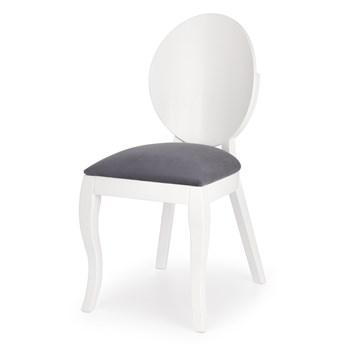 SELSEY Krzesło Asumen biało - szare