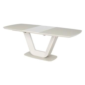 SELSEY Stół rozkładany Lubeka 160-220x90 cm kremowy