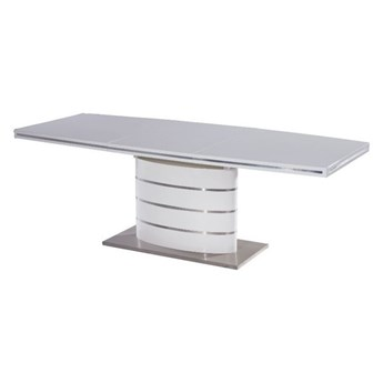 SELSEY Stół rozkładany Vaster 120-180x80 cm biały