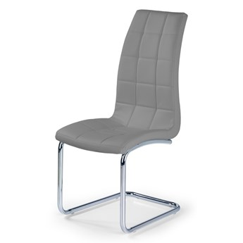 SELSEY Krzesło tapicerowane Svilaj szare