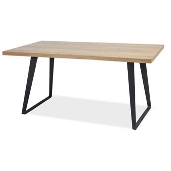 SELSEY Stół Sages 150x90 z litego drewna
