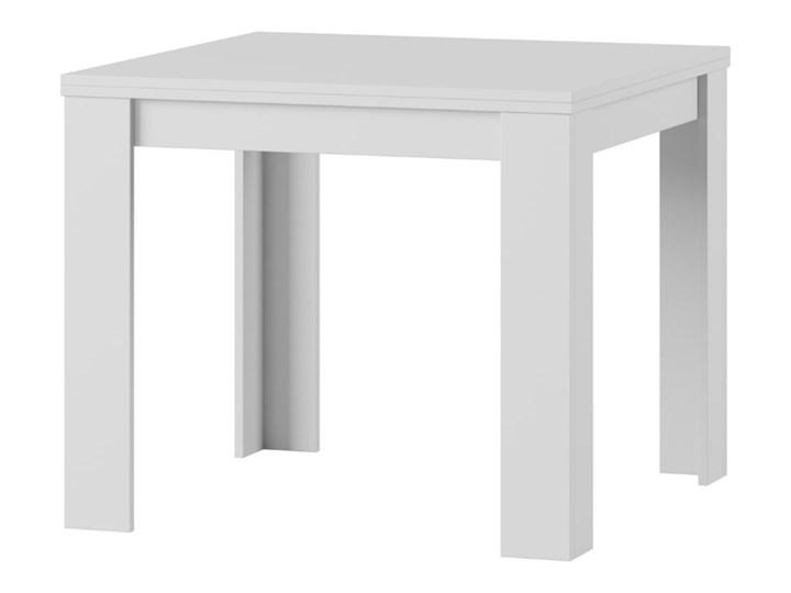 SELSEY Stół rozkładany Paulisa 90-180x90 cm biały Wysokość 77 cm Szerokość 80 cm Płyta MDF Długość 180 cm  Szerokość 180 cm Rozkładanie Rozkładane