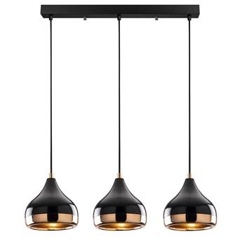 SELSEY Lampa wisząca Queenie podłużna x3
