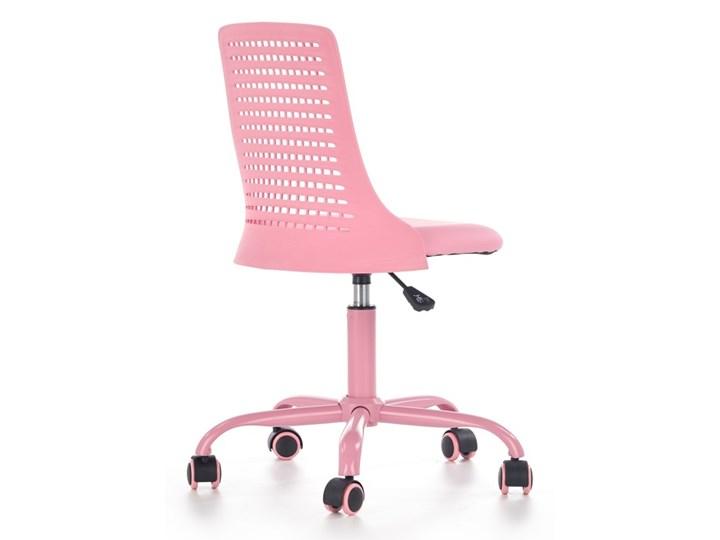 SELSEY Fotel biurowy Gedici różowy Krzesło do biurka Pomieszczenie Pokój przedszkolaka Tworzywo sztuczne Skóra ekologiczna Styl Nowoczesny