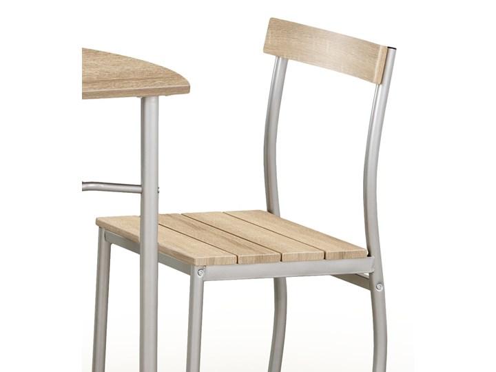SELSEY Stół z krzesłami Parra dąb sonoma Pomieszczenie Jadalnia Kategoria Stoły z krzesłami