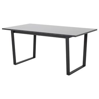 SELSEY Stół Adhafera czarny 160x90 cm
