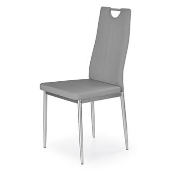 SELSEY Krzesło tapicerowane Gradna popiel
