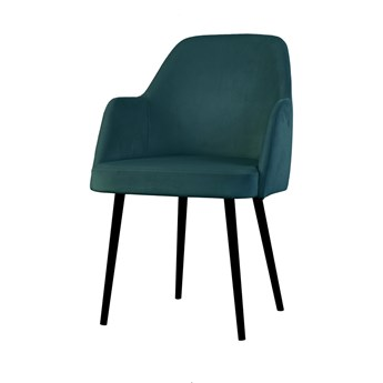 SELSEY Krzesło tapicerowane Kebbi morskie