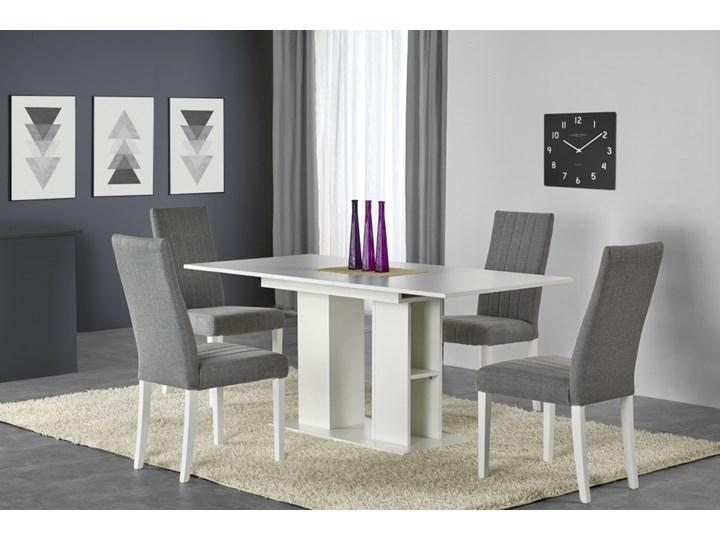 SELSEY Stół rozkładany Obargo 130-170x80 cm biały Długość 170 cm Wysokość 76 cm Długość 130 cm  Szerokość 100 cm Płyta MDF Szerokość 130 cm Pomieszczenie Stoły do jadalni