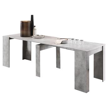 SELSEY Stół rozkładany Dadivosa 54-252x79 cm beton