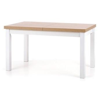SELSEY Stół rozkładany Lorez 140-220x80 cm biały-dąb sonoma