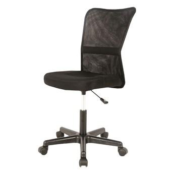 SELSEY Fotel biurowy Leynar czarny