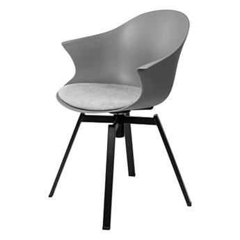 SELSEY Krzesło Elderflower szare
