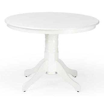 SELSEY Stół Estoi o średnicy 106 cm biały