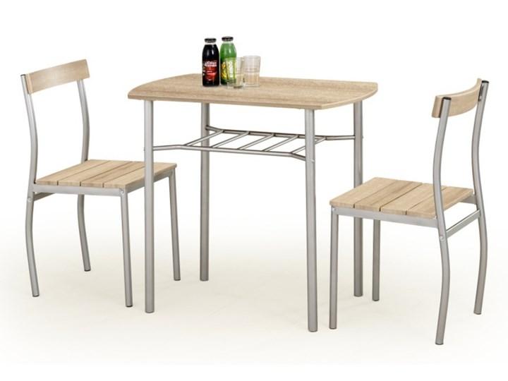 SELSEY Stół z krzesłami Parra dąb sonoma Pomieszczenie Jadalnia