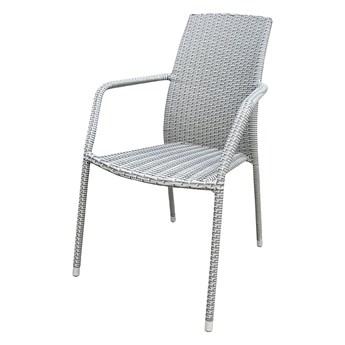 SELSEY Krzesło ogrodowe Sokoto szare