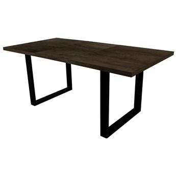 SELSEY Stół rozkładany Lameca 180-230x90 cm czarny oxide